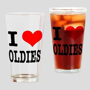 I Heart (Love) Oldies Pint Glass
