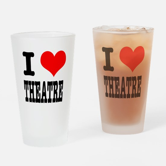 I Heart (Love) Theatre Pint Glass
