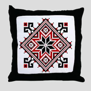 Folk Design 7 Throw Pillow