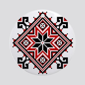 Folk Design 7 Ornament (Round)