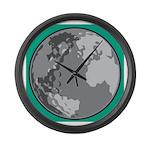 Golf world Large Wall Clock