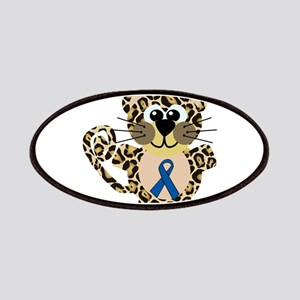 Blue Awareness Ribbon Goofkin Patches