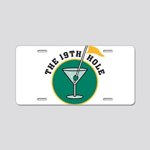 19th Hole Aluminum License Plate