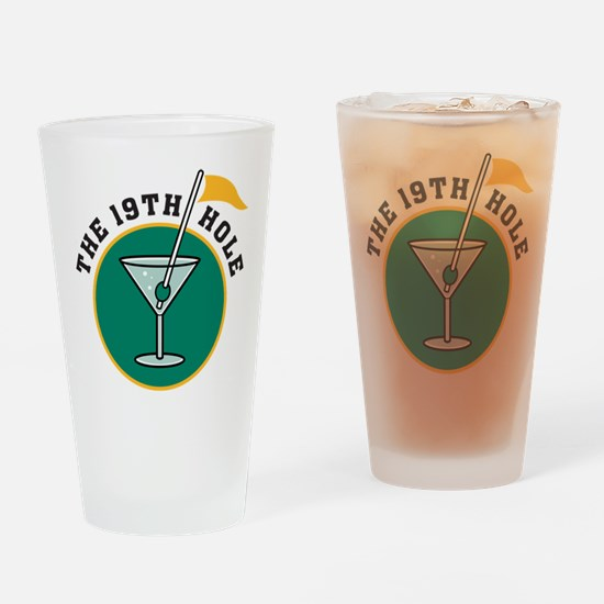 19th Hole Pint Glass