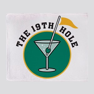 19th Hole Throw Blanket