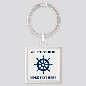 Custom Maritime Keychains For Boat Captain