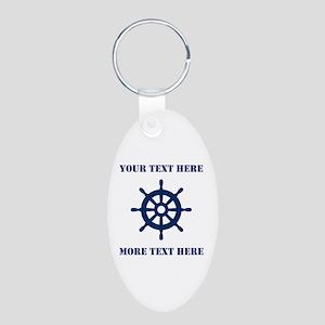 Custom Nautical Ship Wheel Keychains Accessories