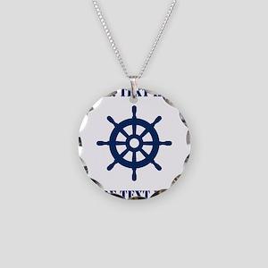 Custom nautical ship wheel Necklace