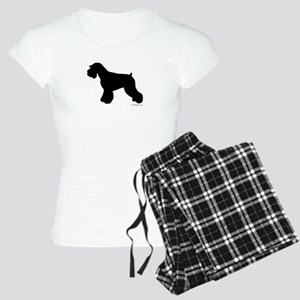 Plain Mini Schnauzer Women's Light Pajamas