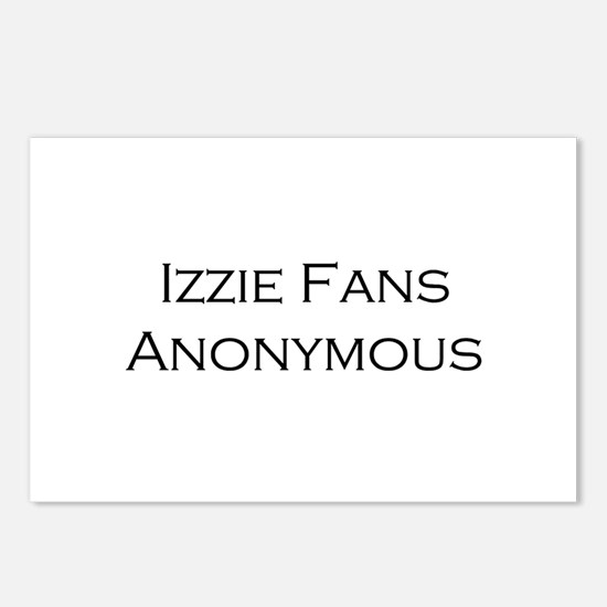 Izzie Fans Postcards (Package of 8)