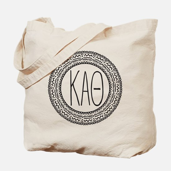 Kappa Alpha Theta Medallion Tote Bag