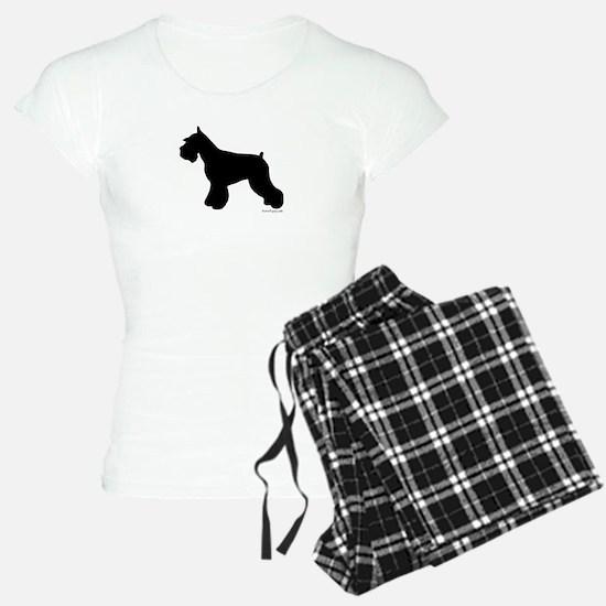 Plain Mini Schnauzer Pajamas