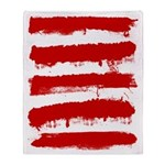 Rebel Stripes Throw Blanket