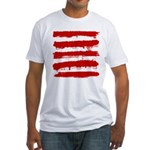 Rebel Stripes Fitted T-Shirt