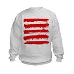 Rebel Stripes Kids Sweatshirt
