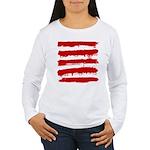 Rebel Stripes Women's Long Sleeve T-Shirt