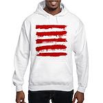 Rebel Stripes Hooded Sweatshirt