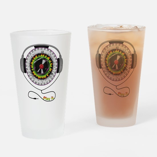 Music of Life Pint Glass