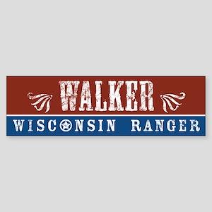 Walker Wisconsin Ranger Sticker (Bumper)