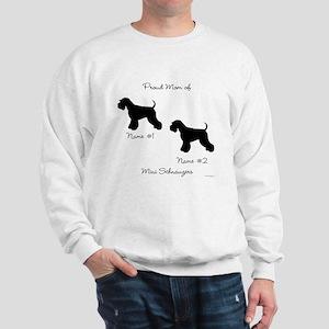 2 Schnauzers Sweatshirt