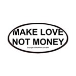 MAKE LOVE, NOT MONEY Patches