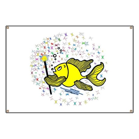 Make a wish Fish Banner
