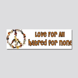 Dogs Of Peace Car Magnet 10 x 3