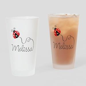 Ladybug Melissa Pint Glass