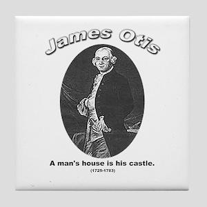 James Otis 01 Tile Coaster