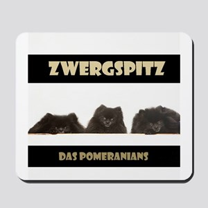 Black Pomeranian German Zwergspitz Deutsch Mousepa