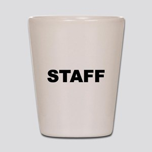 Staff Shot Glass