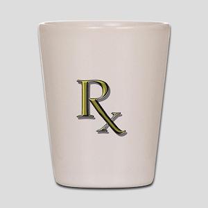 Pharmacy Rx Shot Glass