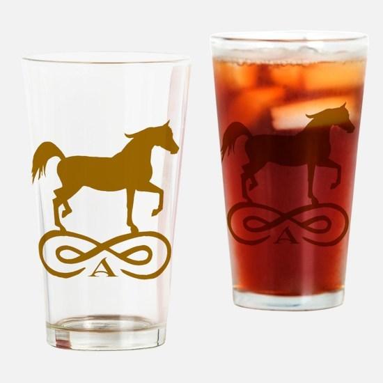 Gold Infinity Arabian Drinking Glass