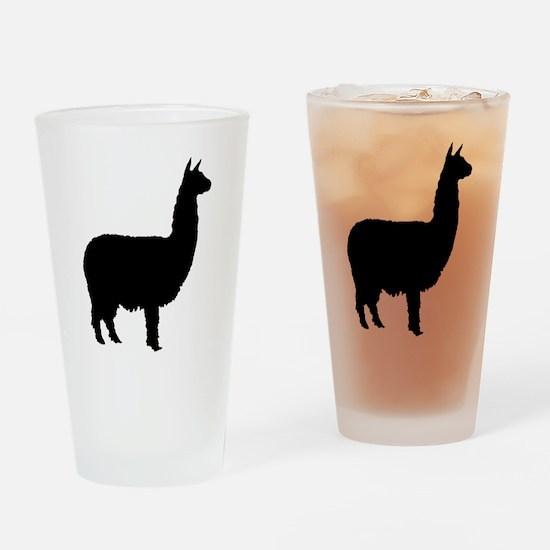 alpaca Pint Glass