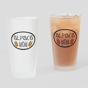 Alpaca Mom Oval Pint Glass