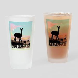 Desert Hills Alpacas Pint Glass