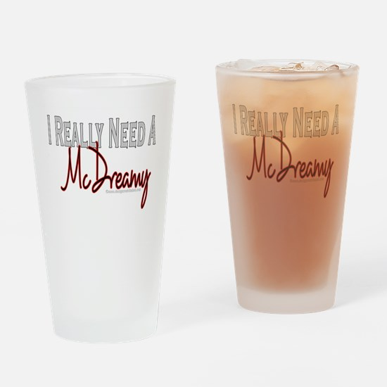 Need A McDreamy Pint Glass