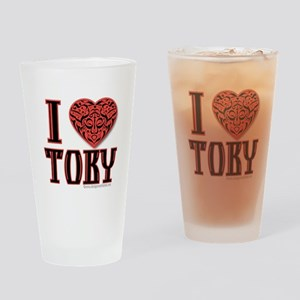 Toby Pint Glass
