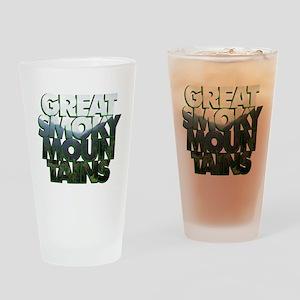 Great Smoky Mountains Pint Glass