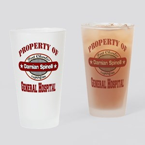 Property of Damian Spinelli Pint Glass