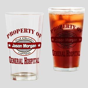 Property of Jason Morgan Pint Glass