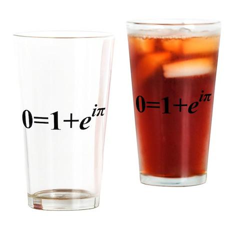 Euler Formula Pint Glass