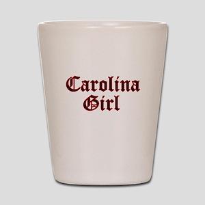 Carolina Girl Shot Glass