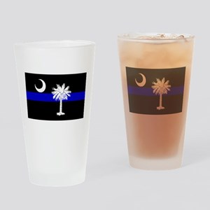 South Carolina Police Pint Glass