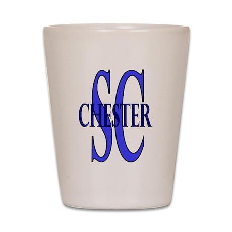 Chester South Carolina Shot Glass