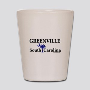 Greenville South Carolina Shot Glass