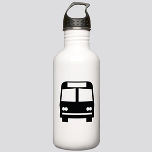 Bus Stop Image Stainless Water Bottle 1.0L