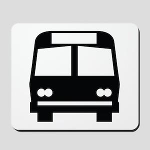 Bus Stop Image Mousepad