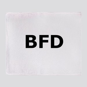 BFD Throw Blanket