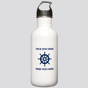 Custom Nautical Boat Stainless Water Bottle 1.0l